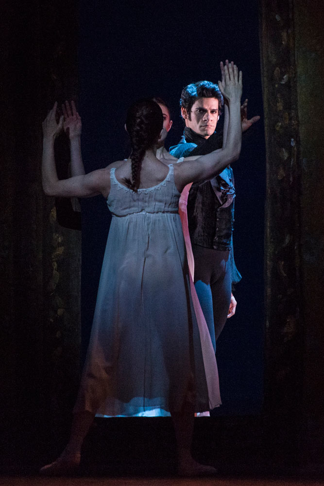 Thiago Soares in Onegin.© Foteini Christofilopoulou, courtesy the Royal Opera House. (Click image for larger version)