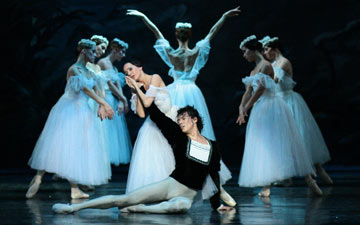 Moscow City Ballet in Giselle.© Moscow City Ballet. (Click image for larger version)