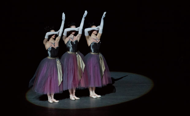 George Balanchine's <I>La Valse</I>.<br />© Paul Kolnik. (Click image for larger version)
