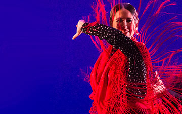 Lucia Campillo - part of the Gala Flamenca evening.© Foteini Christofilopoulou. (Click image for larger version)