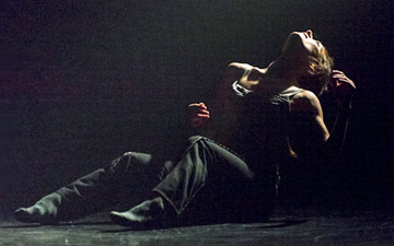 Anne Plamondon in Crystal Pite's A Picture of You Falling.© Foteini Christofilopoulou. (Click image for larger version)