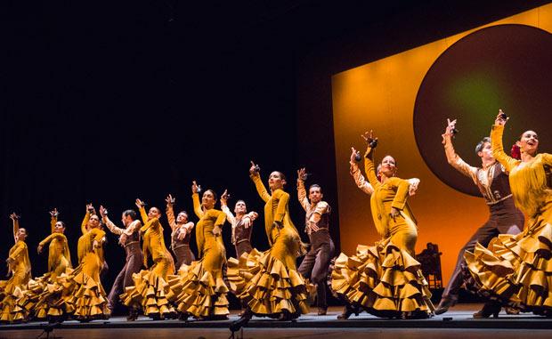 Ballet Nacional de España in <I>Suite Sevilla</I>.<br />© Foteini Christofilopoulou. (Click image for larger version)