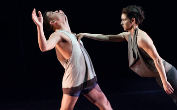 Julian De Leon and Nicole Diaz in Unstruck.© Keira Heu-Jwyn Chang. (Click image for larger version)