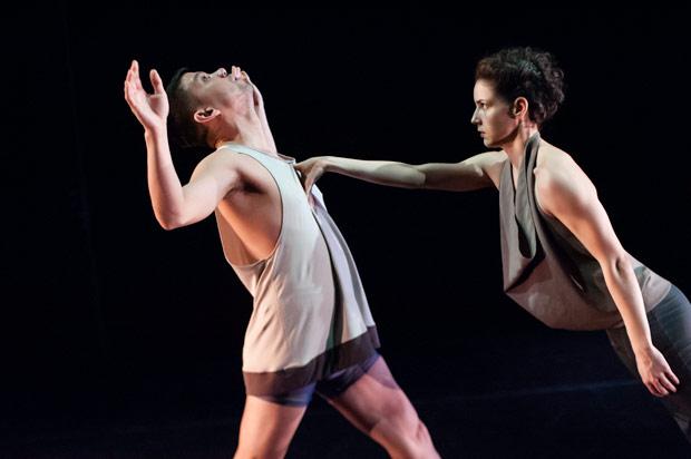 Julian De Leon and Nicole Diaz in <I>Unstruck</I>.<br />© Keira Heu-Jwyn Chang. (Click image for larger version)