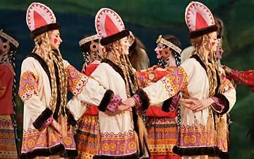 Mariinsky Ballet in Le Sacre du Printemps.© Natasha Razina. (Click image for larger version