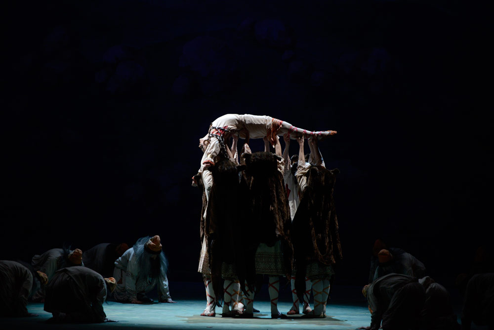 Mariinsky Ballet in <I>Le Sacre du Printemps</I>.<br />© Natasha Razina. (Click image for larger version)