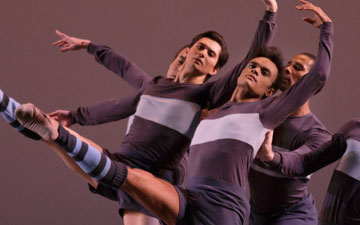 NYCB in Justin Peck's 'Rode,o: Four Dance Episodes.© Paul Kolnik. (Click image for larger version)