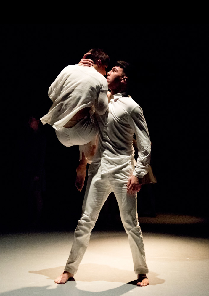 Jemima Brown and Kyan Namazi (London Contemporary Dance School) in <I>Sometimes, even now</I> by James Cousins.<br />© Camilla Greenwell. (Click image for larger version