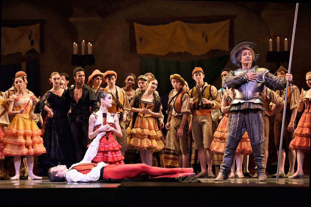San Francisco Ballet in Tomasson/Possokhov's <I>Don Quixote</I>.<br />© Erik Tomasson. (Click image for larger version)