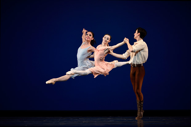 San Francisco Ballet in Robbins' <I>Dances at a Gathering</I>.<br />© Erik Tomasson. (Click image for larger version)