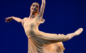 Mathilde Froustey In Robbins' Dances at a Gathering.© Erik Tomasson. (Click image for larger version)