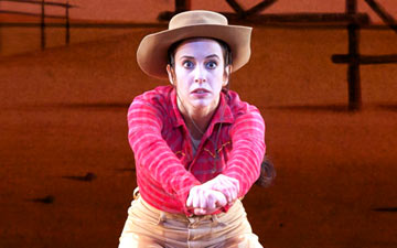 Xiomara Reyes in Rodeo.© Gene Schiavone. (Click image for larger version)