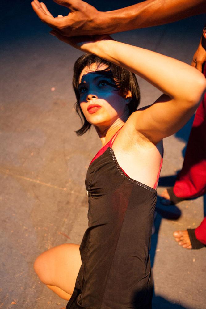 MalPaso Dance Company publicity image.<br />© Lili Dosina. (Click image for larger version)