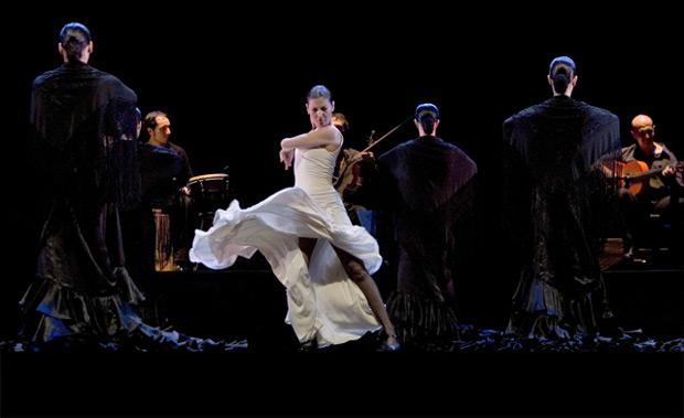 Ballet Flamenco Sara Baras in Voces, Suite Flamenca.© Peter Muller.