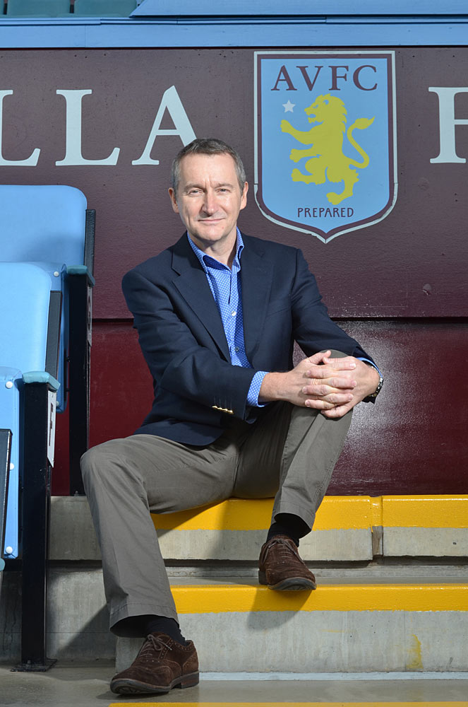 "David Bintley as part of the community and Aston Villa supporter. See more of how BRB and its dancers are part of the city at: <a href=""http://www.balletinbirmingham.co.uk"">www.balletinbirmingham.co.uk</a>.<br />© Richard Battye. (Click image for larger version)"