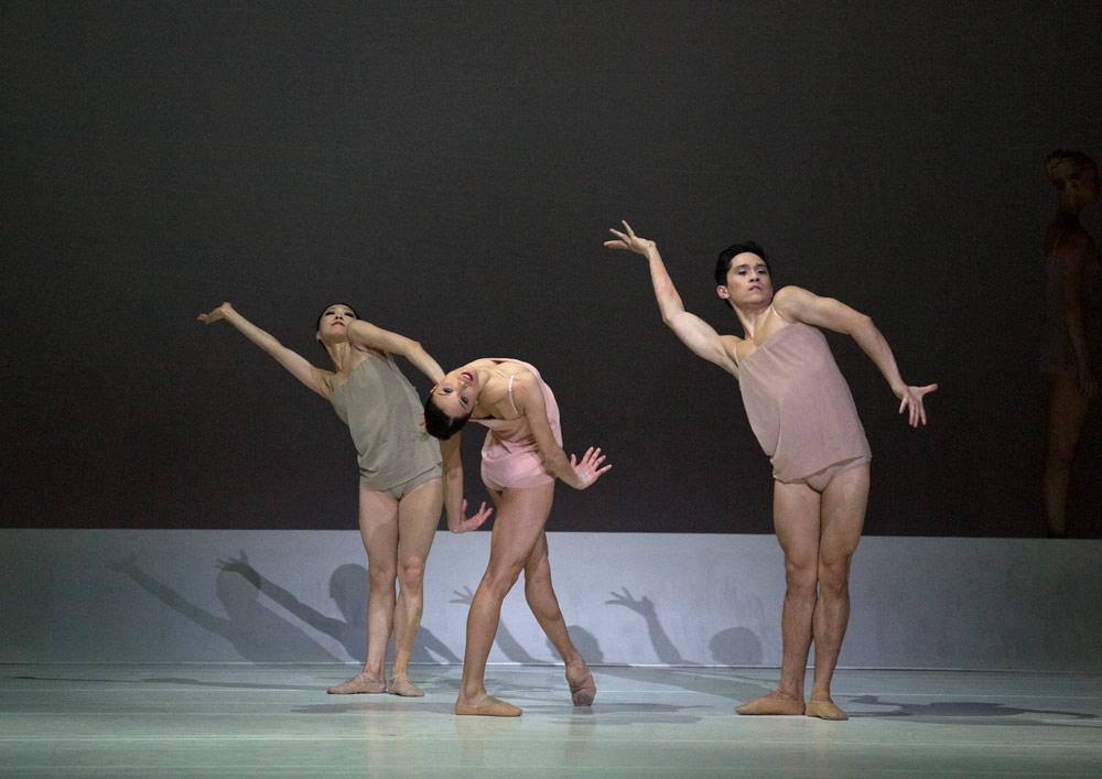 Boston Ballet in Wayne McGregor's Chroma.© Rosalie O'Connor. (Click image for larger version)