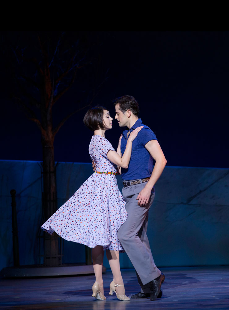 Leanne Cope and Robert Fairchild in An American in Paris.© Angela Sterling. (Click image for larger version)