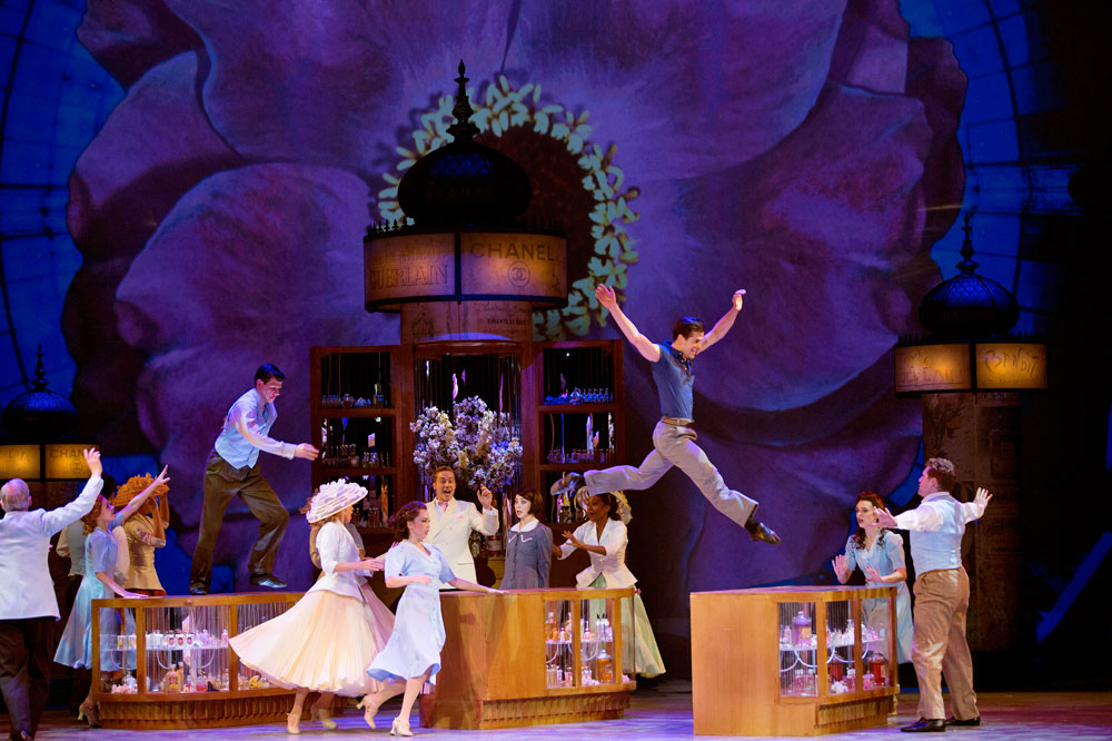 Christopher Wheeldon's An American in Paris.© Angela Sterling. (Click image for larger version)