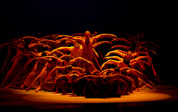 Alvin Ailey American Dance Theater in <I>Revelations</I>.<br />© Christopher Duggan. (Click image for larger version)