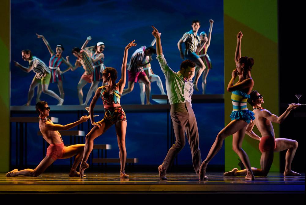 San Francisco Ballet in Possokhov's Swimmer.© Erik Tomasson. (Click image for larger version)