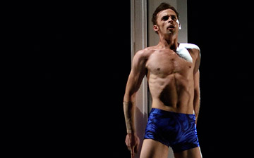 Taras Domitro in Possokhov's Swimmer.© Erik Tomasson. (Click image for larger version)