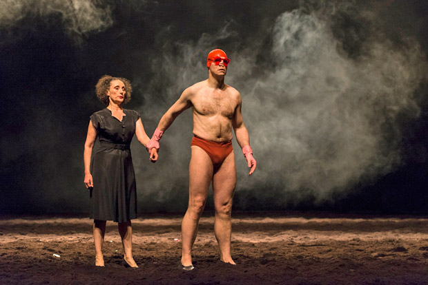 Tanztheater Wuppertal Pina Bausch in <I>Auf dem Gebirge hat man ein Geschrei gehört</I>.<br />© Foteini Christofilopoulou. (Click image for larger version)