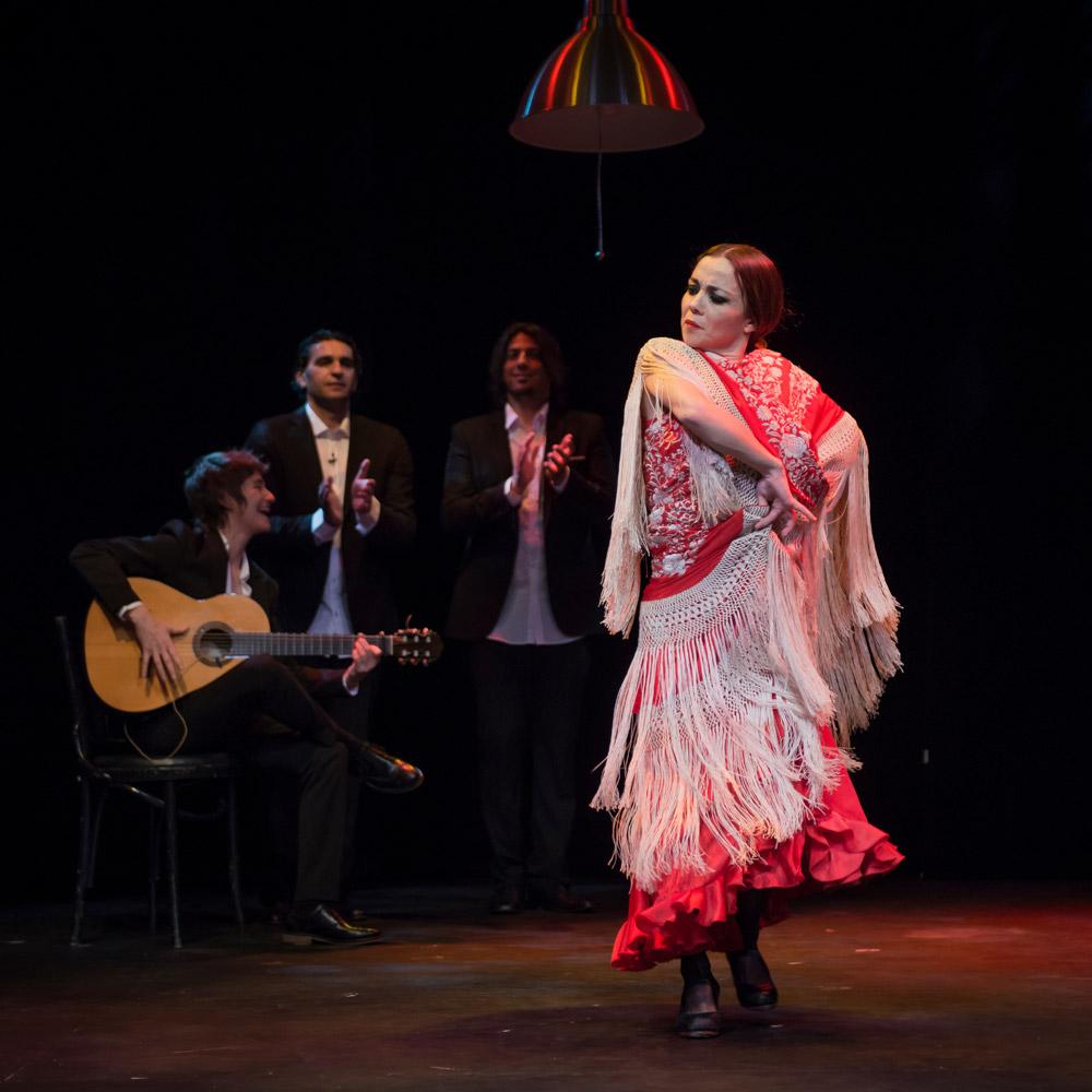 Olga Pericet in Flamenco Sin Título.© Michael Palma. (Click image for larger version)