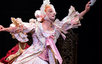Roman Zhurbin and Craig Salstein in Cinderella.© Rosalie O'Connor. (Click image for larger version)
