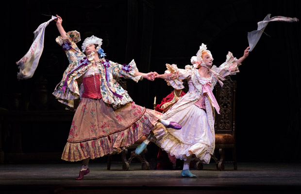 Roman Zhurbin and Craig Salstein in <i>Cinderella</i>.<br />© Rosalie O'Connor. (Click image for larger version)