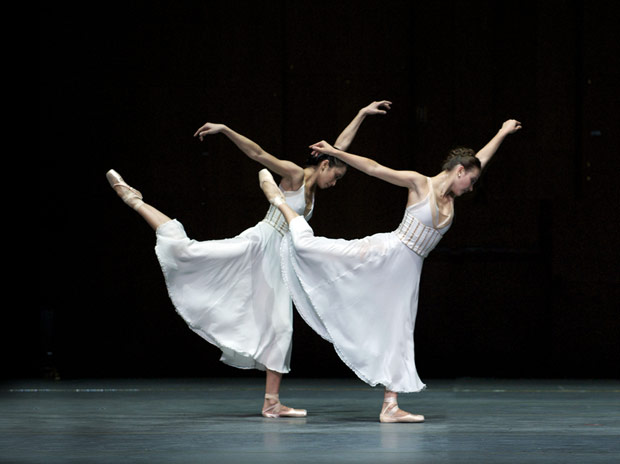 Stella Abrera and Christine Shevchenko in Ratmansky's <I>Seven Sonatas</I>.<br />© Rosalie O'Connor/Courtesy American Ballet Theatre.