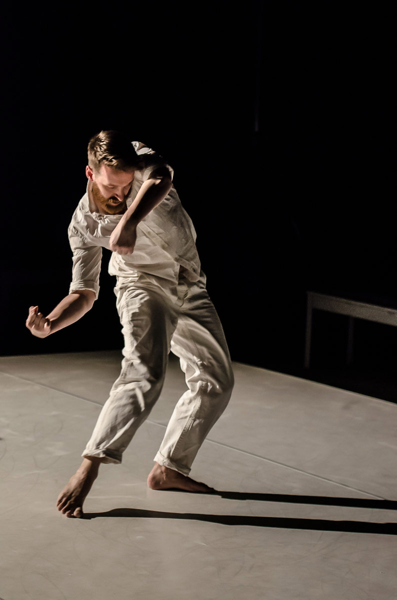 Theo Clinkard in <I>Chalk</I>.<br />© Stephen Wright. (Click image for larger version)