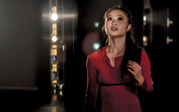 Vanessa Kang in Christopher Bruce's Rooster.© Stephen Wright. (Click image for larger version)
