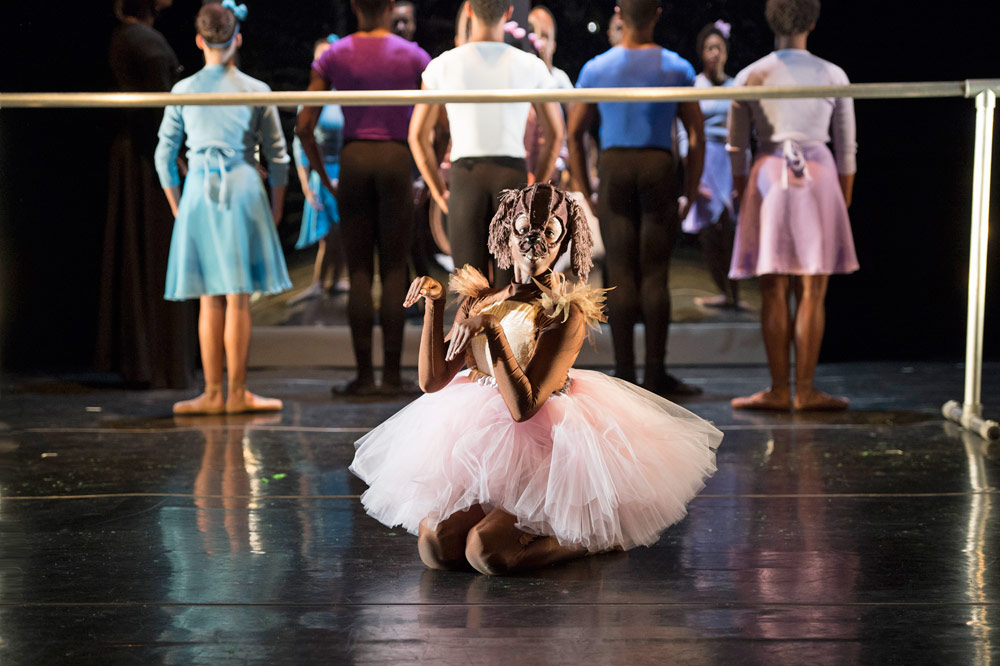 Ballet Black in <I>Dogs Don't Do Ballet</I>.<br />© Bill Cooper. (Click image for larger version)