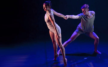 Encore Dance Company in James Streeter's Untouchable Void.© Brian O'Carroll. (Click image for larger version)