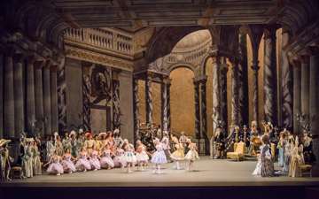 American Ballet Theatre in Alexei Ratmansky's The Sleeping Beauty.© Doug Gifford. (Click image for larger version)
