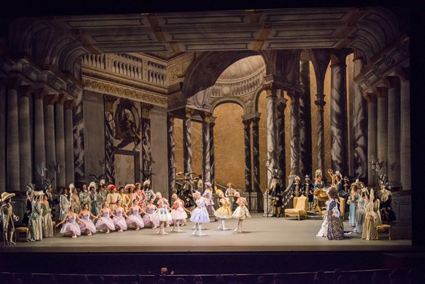 American Ballet Theatre in Alexei Ratmansky's <I>The Sleeping Beauty</I>.<br />© Doug Gifford. (Click image for larger version)