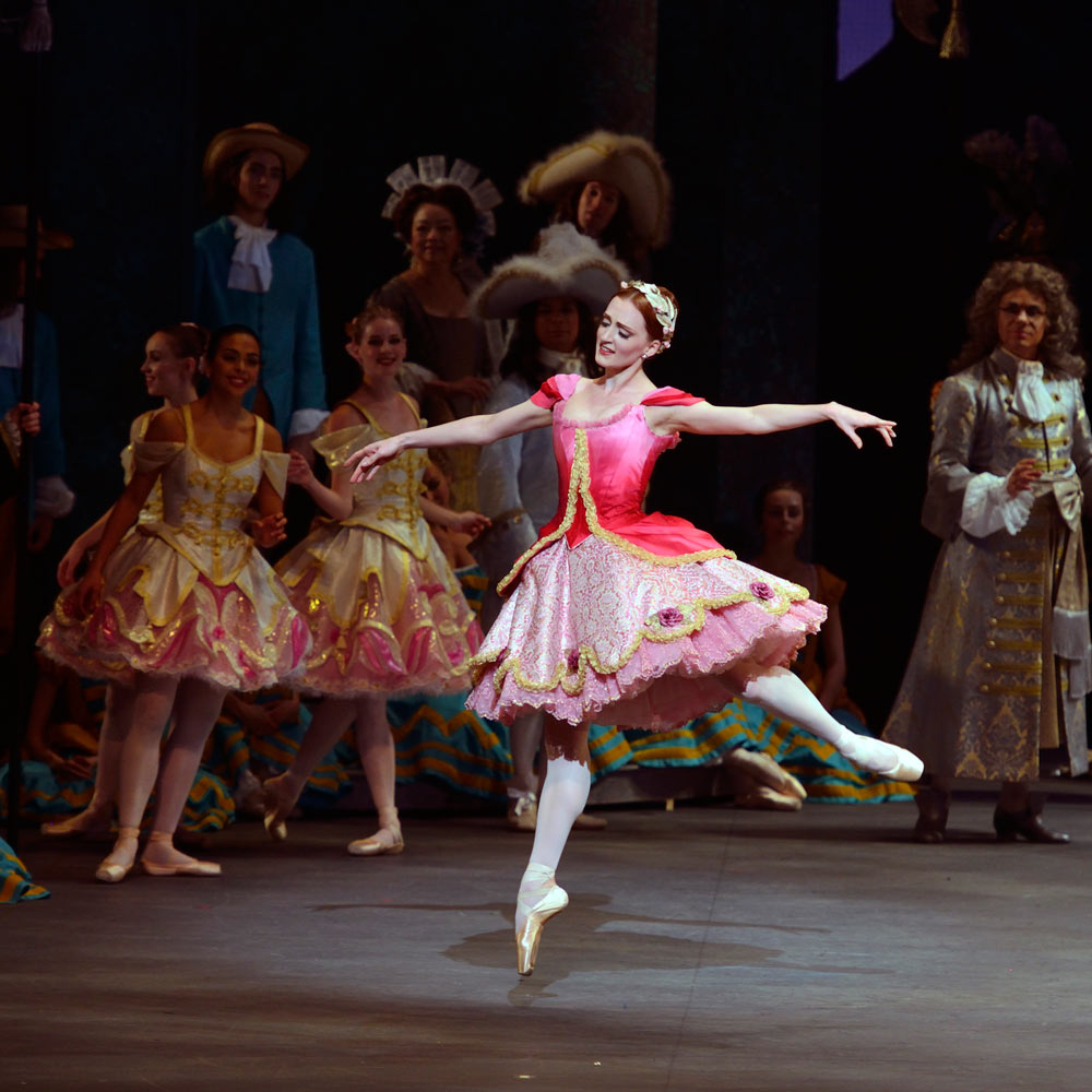 Gillian Murphy in Alexei Ratmansky's <I>The Sleeping Beauty</I>.<br />© Gene Schiavone. (Click image for larger version)