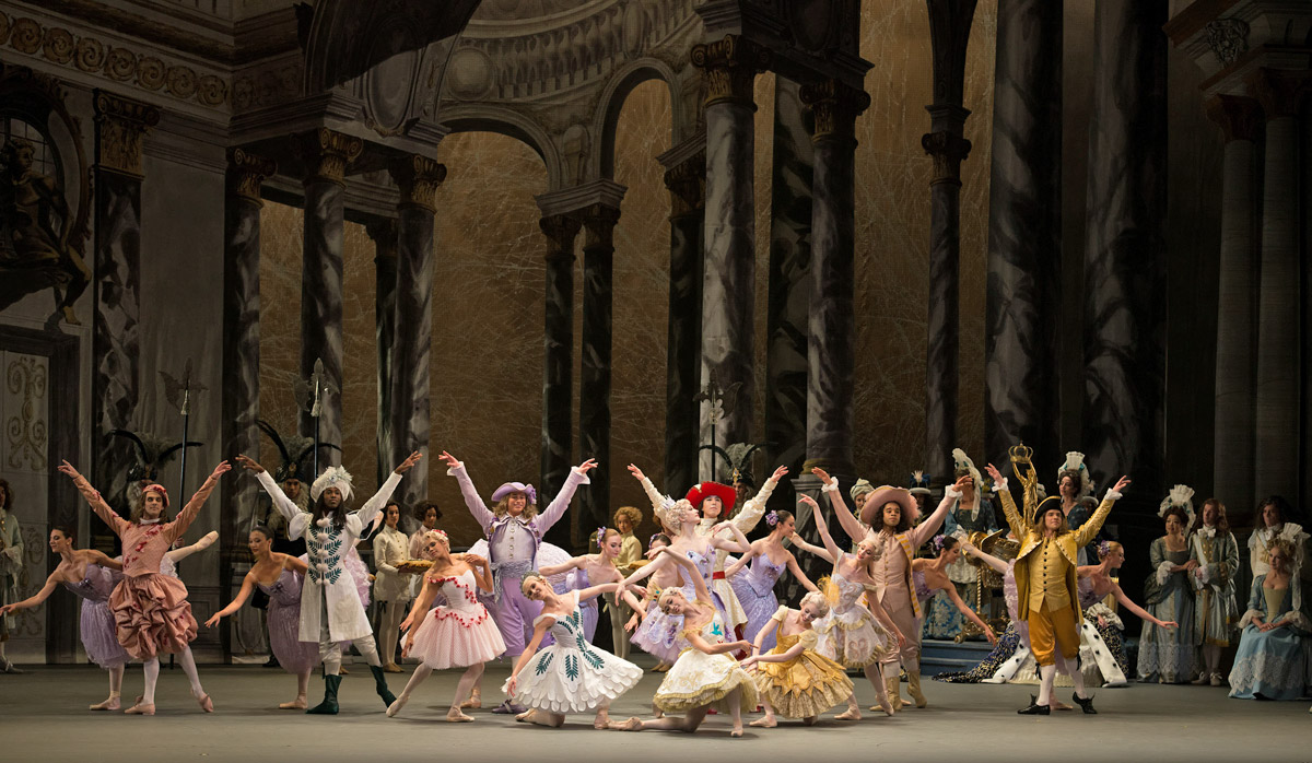American Ballet Theatre in Alexei Ratmansky's The Sleeping Beauty.© Gene Schiavone. (Click image for larger version)