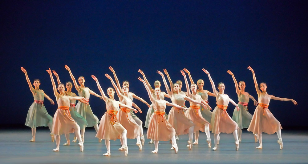 American Ballet Theatre in <I>Push Comes to Shove</I>.<br />© Gene Schiavone. (Click image for larger version)