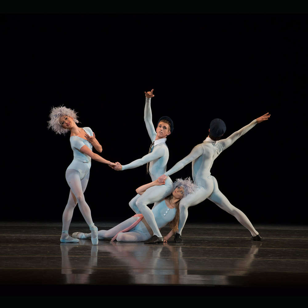 Boston Ballet in Jerome Robbins' <I>The Concert</I>.<br />© Gene Schiavone. (Click image for larger version)