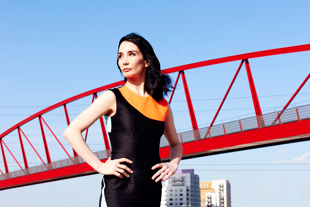 Tamara Rojo at London City Island.© Perry Curties. (Click image for larger version)