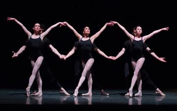 Boston Ballet in Jorma Elo's Bach Cello Suites.© Rosalie O'Connor. (Click image for larger version)