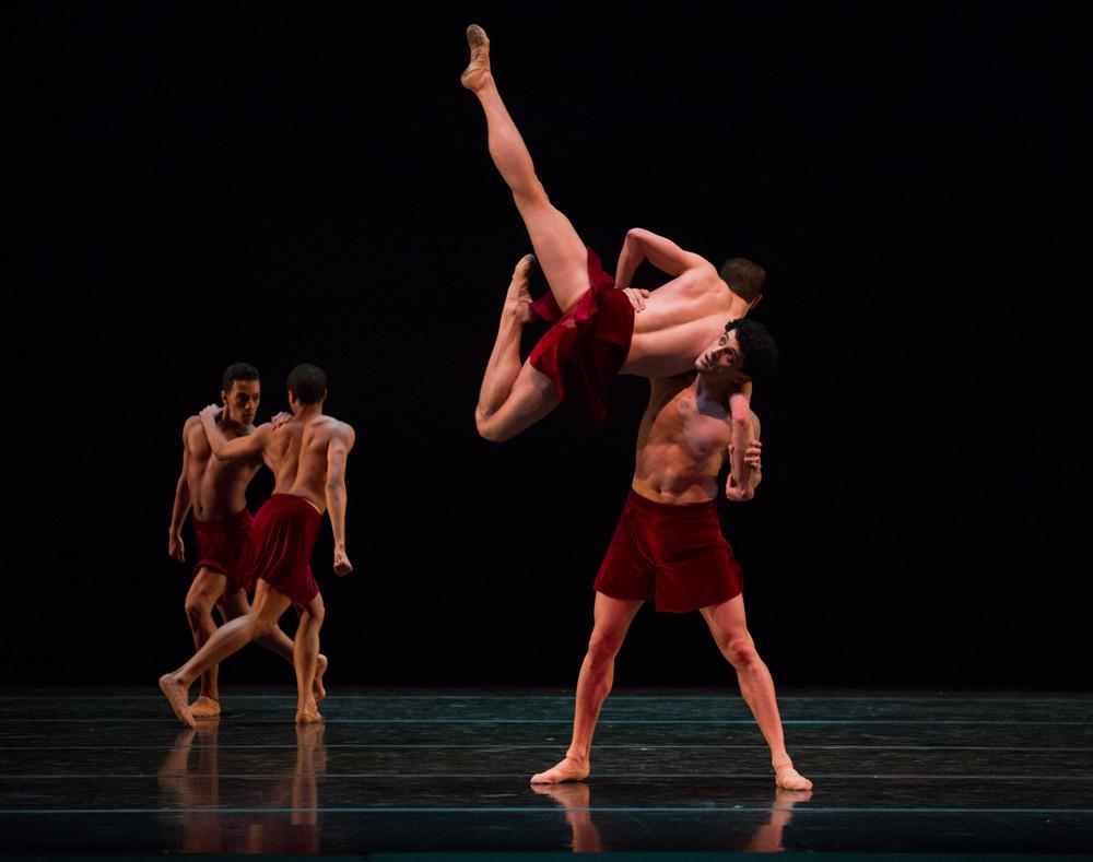 Boston Ballet in Lila York's <I>Celts</I>.<br />© Rosalie O'Connor. (Click image for larger version)