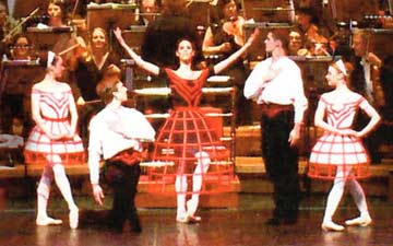 Ruth Brill's Matryoshka at its Symphony Hall premiere.© BRB.