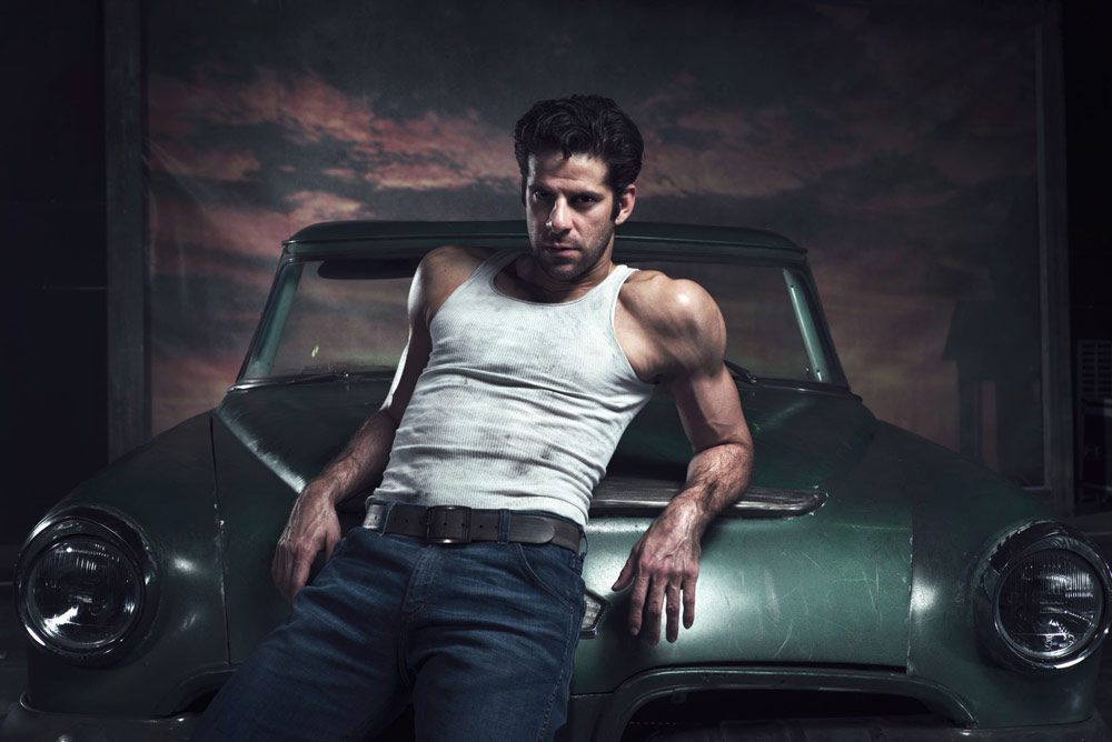 Marcelo Gomes in The Car Man poster image.© Chris Mann. (Click image for larger version)