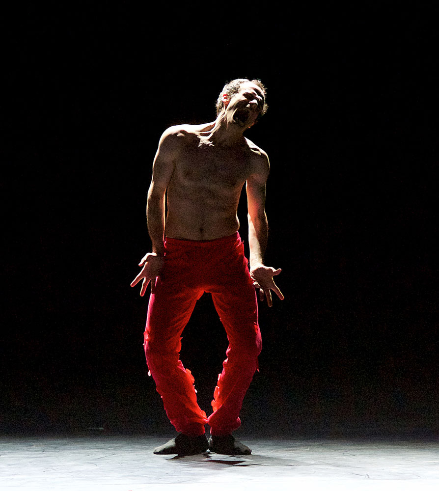 Zhani Lukaj in <I>Spectre de la Rose</I>.<br />© Elliott Franks. (Click image for larger version)