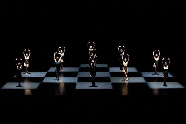 Polish National Ballet in <I>Moving Rooms</I>.<br />© Ewa Krasucka. (Click image for larger version)