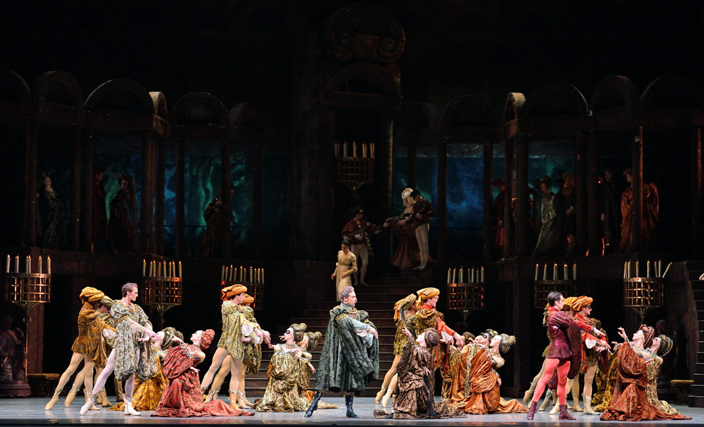 American Ballet Theatre in <I>Romeo and Juliet</I>.<br />© Gene Schiavone. (Click image for larger version)