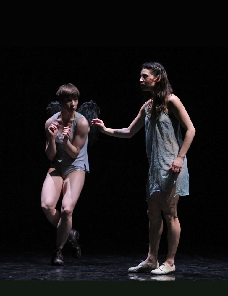 Ariel and Miranda: Tura Gomez Coll and Naya Monzon Alvarez.<br /><I>The Tempest</I> by Izadora Weiss.<br />© K. Mystkowski. (Click image for larger version)