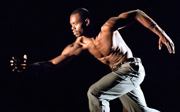 Jamar Roberts in Exodus.© Paul Kolnik. (Click image for larger version)